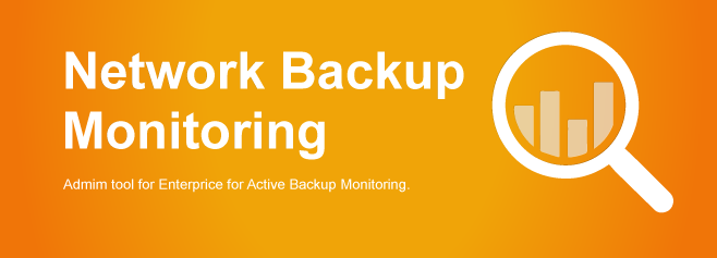 Admin Tool for Enterprise for Active Backup Monitoring